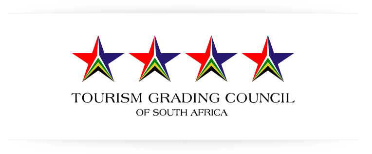Four-star grading by the Tourism  Grading Council of South Africa